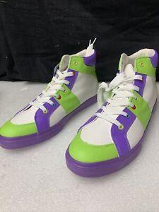 Disney Pixar Toy Story 4 Buzz Lightyear Cosplay Sneaker Shoes Men's Sz 11 G123