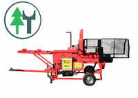 Sägespalter Woodstar 30E Elektromotor Brennholzautomat Firewood Processor
