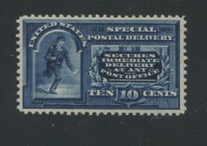 1895 United States Special Delivery Stamp #E5 Mint Lightly Hinged Original Gum
