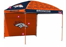 Denver Broncos NFL Canopy Wall Tent Tailgating Beach Picnic Flea Market 10'x10'