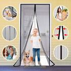 Внешний вид - Magnetic Screen Door Retractable Mesh Net Pet Patio Hands Free Magic Automatic