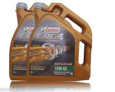 CASTROL EDGE TITANIUM FST SUPERCAR 10W-60 2x5 Liter Motoröl BMW ,VW,Ferrari