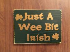 wooden irish home décor plaques & signs | ebay