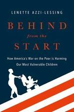 BEHIND FROM THE START - AZZI-LESSING, LENETTE - NEW HARDCOVER BOOK