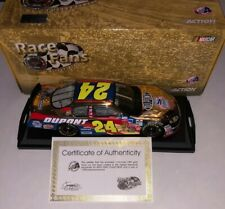 1/1008! 2003 JEFF GORDON DUPONT WRIGHT BROTHERS 24K GOLD RACE FANS ONLY 1/24