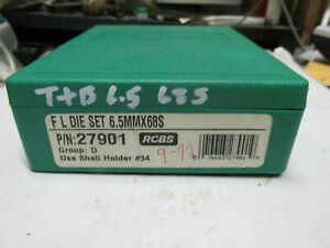 [T+B6.568S] RCBS FL 6.5mm x 68S dies