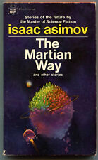 Isaac Asimov The Martian Way and Other Stories Fawcett  RI289 First Printing
