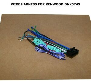 WIRE HARNESS FOR KENWOOD DNX574S DNX-574S 22 PIN FREE FAST SHIPPING