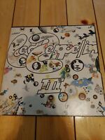 LED ZEPPELIN III vinyl lp, Atlantic 1970. SD 7201.