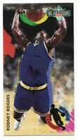 RODNEY ROGERS 1993-94 Fleer NBA Jam Session ROOKIE STANDOUTS #7 ~ Nuggets NBA
