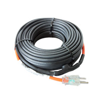 HEATIT JHSF1-CT Self Regulating Pre-Assembled Pipe Heating Cable 18-feet 120V