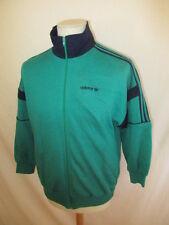 Survêtement complet vintage années 80 Ventex Adidas Vert Taille M
