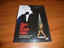 Whats Love Got to Do With It (DVD, Widescreen 1999)  Angela Bassett NEW