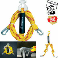 Multi Purpose Tow Rope Heavy Duty Y Harnes Tube Towable Pulling Boat  Water Ski