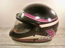 Vtg Polaris By Bell Racing Snowmobile Sled Riding Indy Helmet Lid Size Medium
