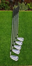 Mizuno MX-200 Irons 6-PW Exsar IS4 Regular Flex Graphite Shafts - RH