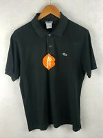 VINTAGE Mens LACOSTE Polo Shirt DEVANLAY SPORT Short Sleeve Size 4 Small P64