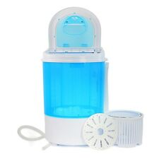 Portable Mini Washer Machine 8lbs Compact Laundry Spin Dry Cycle Dorm Camping RV