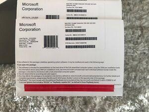 OEM Genuine Microsoft Windows 10 Pro Professional DVD w/ COA v. 2004 FQC-08930