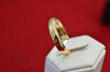 Original Niessing 585 dorado anillo tamaño 63 clásica forma caballeros anillo
