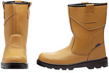 Genuine DRAPER Rigger Style Safety Boots Size 9 | 85974