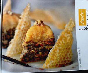 The Greek Baklava made with walnuts & Honey 6.17oz Athens Delicacy 02/2022