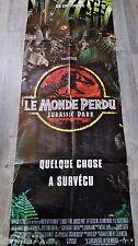 JURASSIC PARK II le monde perdu  ! affiche cinema