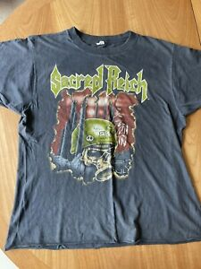 Sacred Reich Vintage Crimes Against Humanity XL T- Shirt 1990