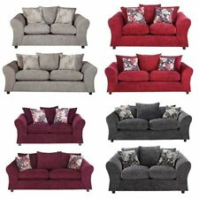 Two Seater Sofa Living Room Fabric Modern Furniture Suites
