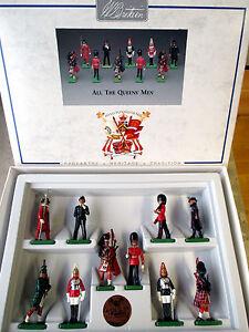 """W.Britain Collection """"All the Queens Men"""" 10 Figuren Art.No. 8007 RAR & MINT BOX"""