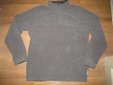 Exofficio New Black Gray Neck Zip Pullover Fleece Travel Shirt Men's Xl Z-12