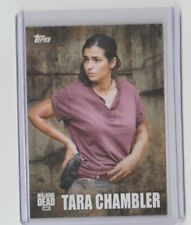 The Walking Dead Season 5 2016 Characters Trading Card #C-12 Tara Chambler