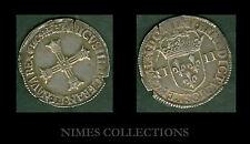 MONNAIE ROYALE HENRI IV  1589/1619  1/4 ECU 5 ème TYPE   N° 33