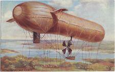 TUCK : AIRSHIPS-Motor Driven War Airship  -OILETTE-9495