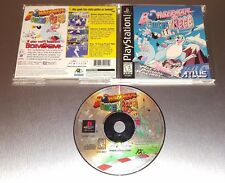 Bomberman Fantasy Race ☆☆ Complete w/ MINT CASE ☆☆ - PS1 Playstation 1