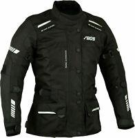 Veste de moto pour femme, veste de motard d'hiver en textile avec armure CE