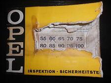 Prospectus ventes brochure Opel Rekord la clientèle scheckheft Diplomat V8