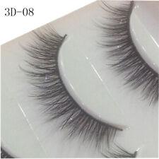 3D Mink Natural Thick False 5Pairs Fake Eyelashes Eye Lashes Makeup Extension