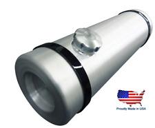 Round Aluminum 6.75 Gallon Water Storage Tank Stock Trailer Dog Box Camping