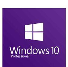MICROSOFT Windows 10 PRO Professional 32/64bit ORIGINALE CODICE di licenza eBay DE