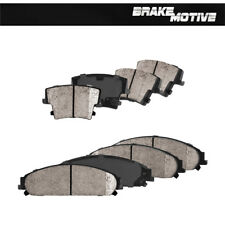 Front And Rear Ceramic Brake Pads For 300 300C Challenger Charger Magum