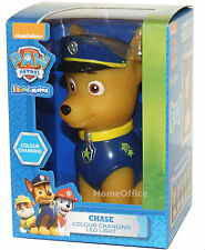Nickelodeon Paw Patrol Colour Changing LED Battery Light Children  Bedroom Blue