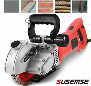 110V 220V Wall Slotting Machine 5500W Electric Wall Chaser Groove Concrete Saw