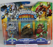 Golden Dragonfire Cannon Battle Pack - Skylanders Giants Erweiterung Neu lesen