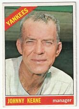 1966 Topps #296 Johnny Keane Vintage Baseball Card Some for CHARITY! WoW!