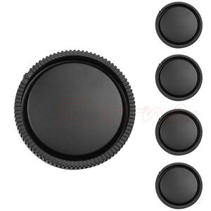 5Pcs Rear Lens Cap for Sony E-Mount NEX-3 NEX-5 Black