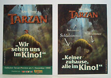 1x Tarzan Vorankündigung 1999 ERB & Disney von Toysrus & RTL Motiv 2