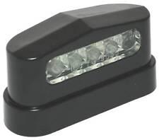 12V Led Kennzeichenbeleuchtung ABS schwarz für Anhänger Wohnmobil Caravan Auto
