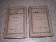1842.essais de philosophie / charles de Rémusat.2/2