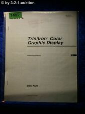 Sony Bedienungsanleitung GDM F520 Graphic Display (#1492)